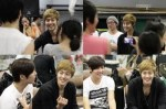 Kim Hyun Joong visit Kim Kyu Jong at Goong Musical Practice6