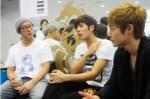 Kim Hyun Joong visit Kim Kyu Jong at Goong Musical Practice7